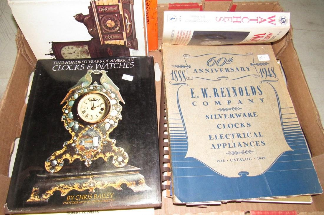 Lot of Watch & Clock Books - 5