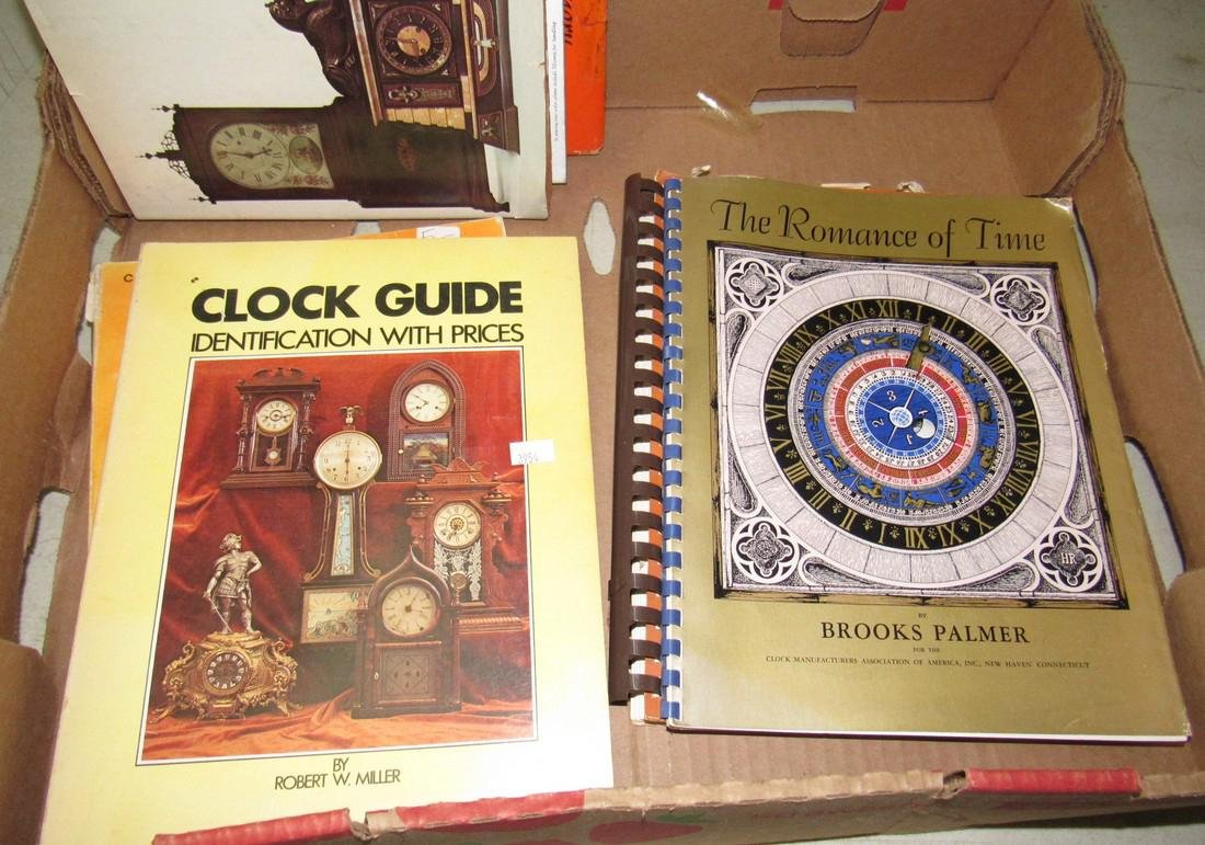 Lot of Watch & Clock Books - 6