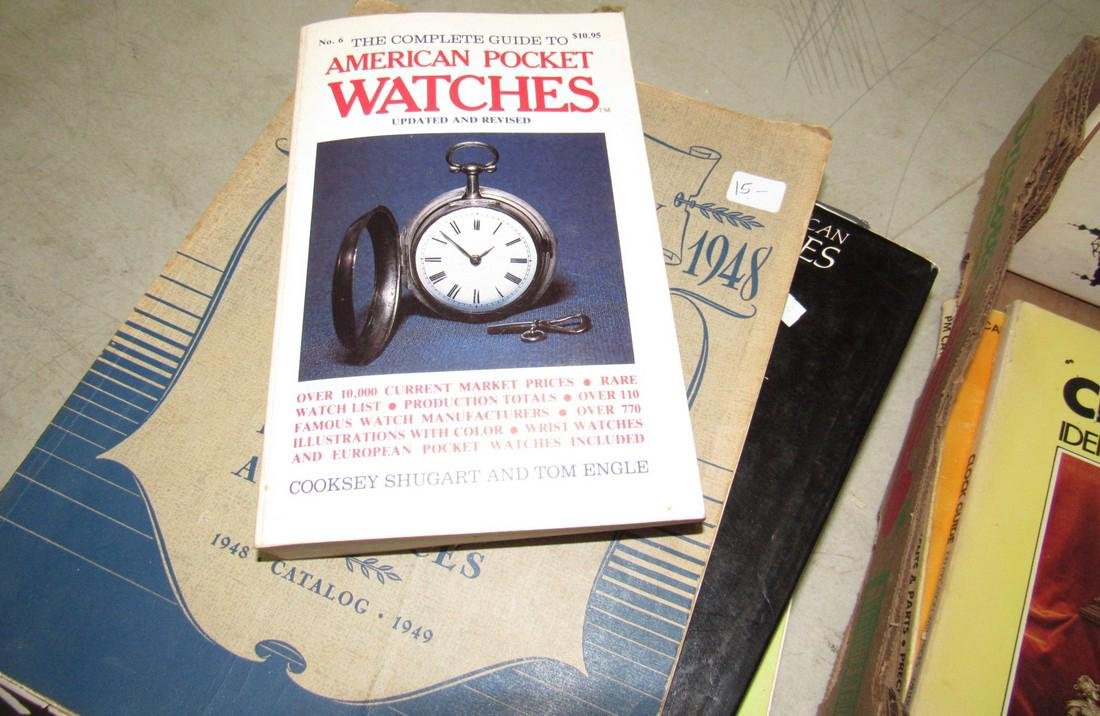 Lot of Watch & Clock Books - 7