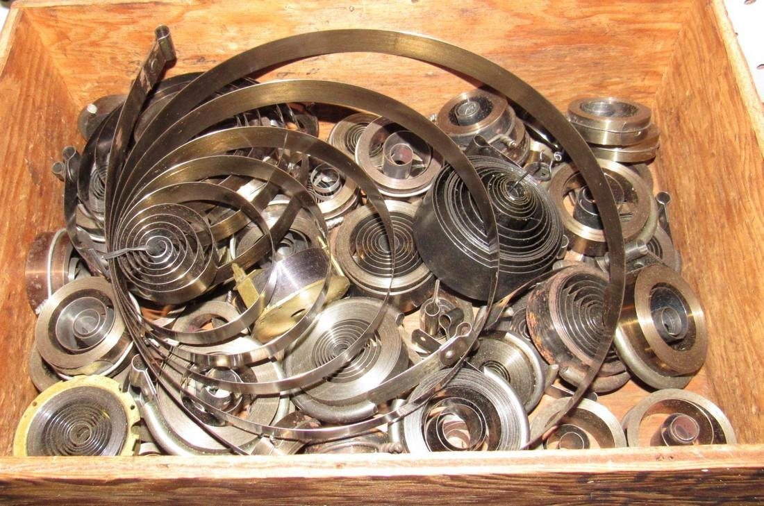 Clock Main Springs Parts Lot