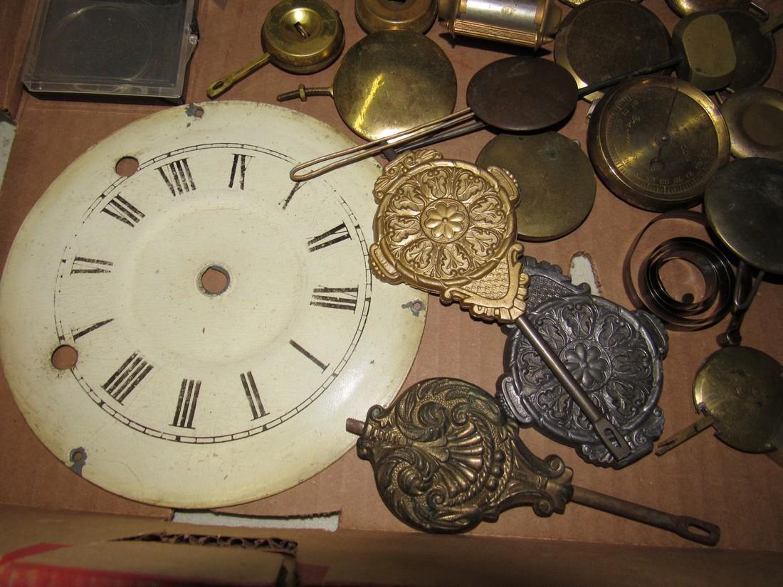 Clock Pendulums Lot - 5