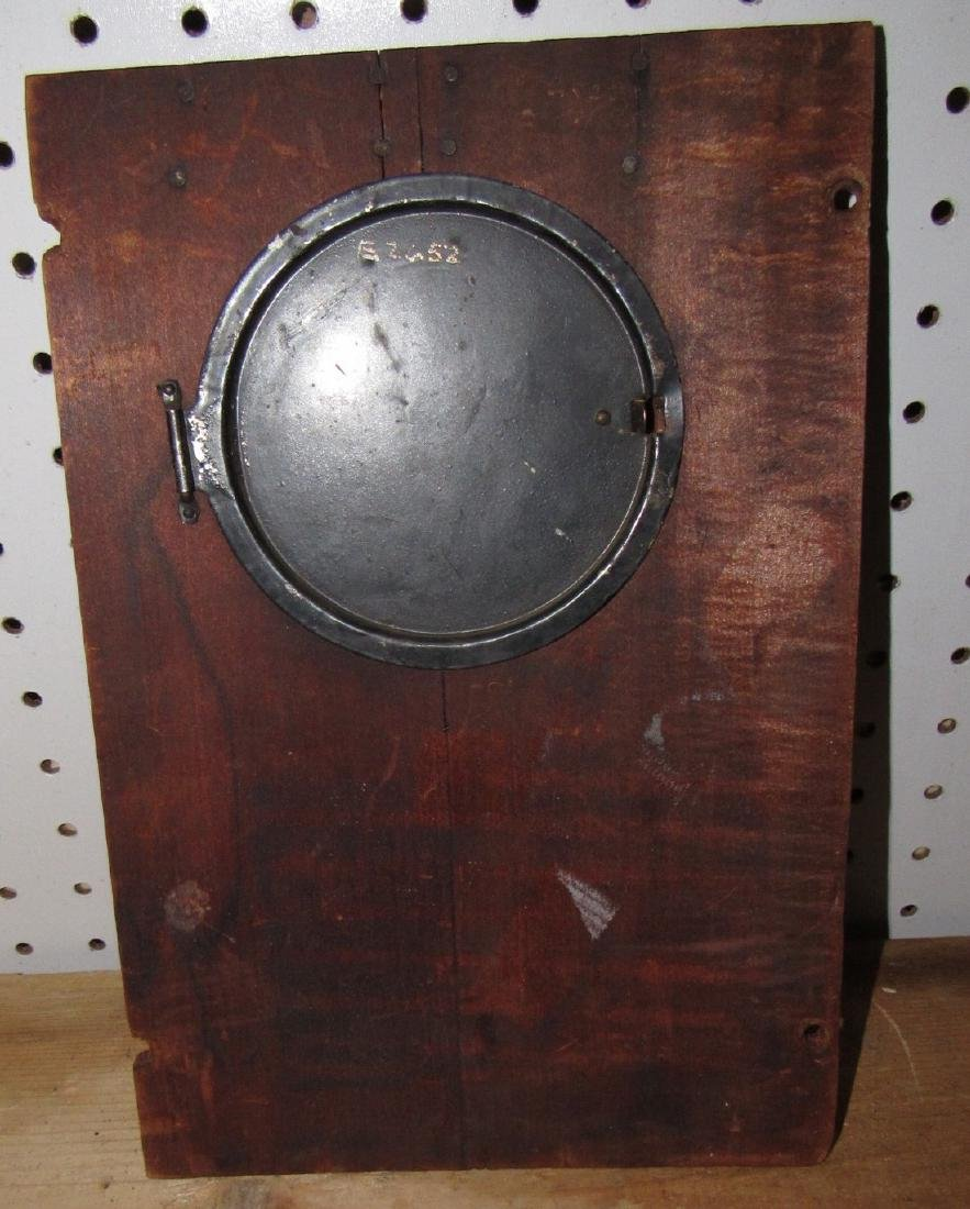 Clock Cases Movements Keys Weights Parts Lot - 6