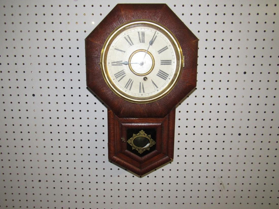 Ansonia Short Drop Regulator Clock