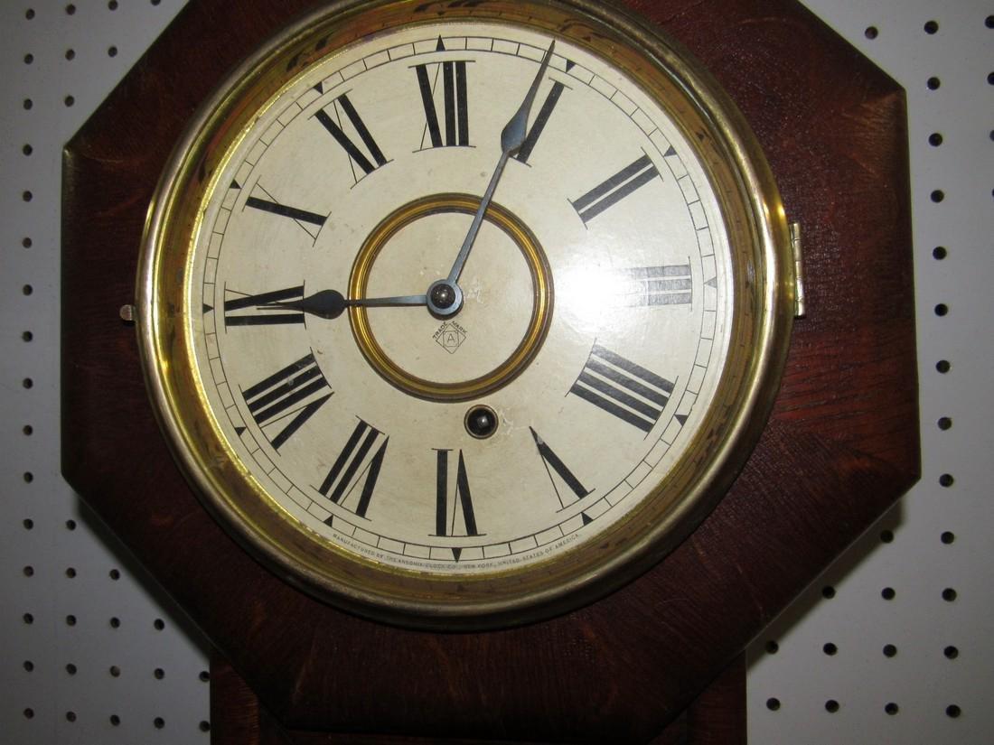Ansonia Short Drop Regulator Clock - 2
