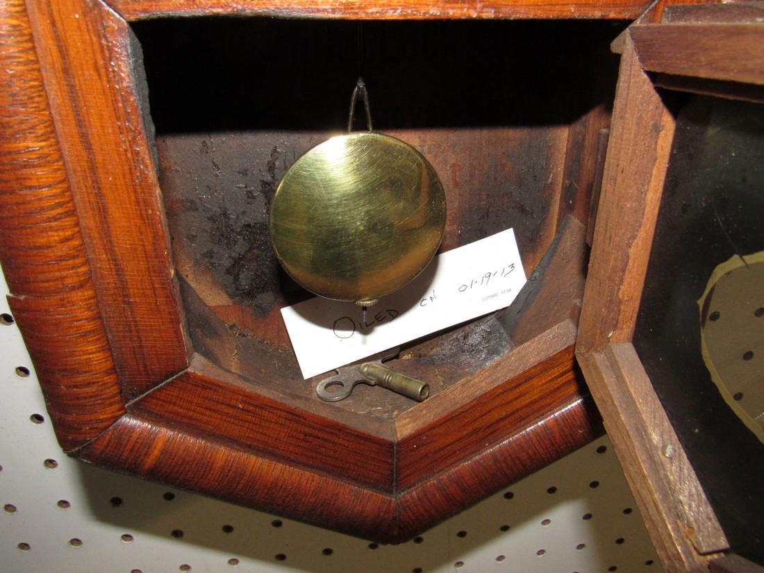 Ansonia Short Drop Regulator Clock - 3