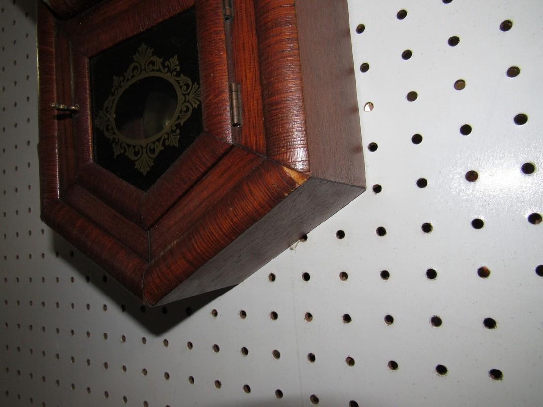 Ansonia Short Drop Regulator Clock - 4