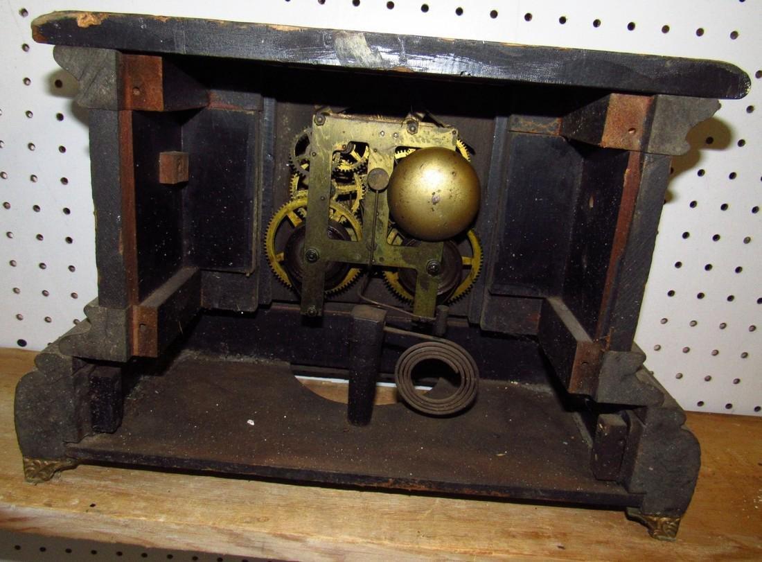 Ingraham Mantle Clock - 4