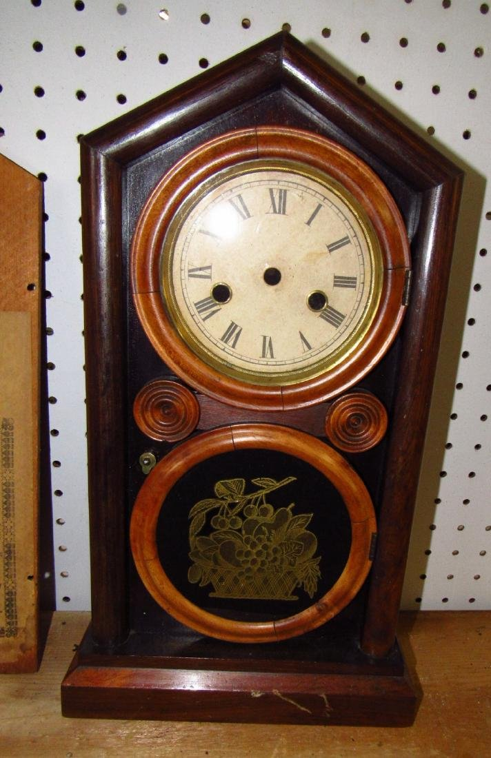 Ingraham 8 Day Cathedral Clock Case - 2