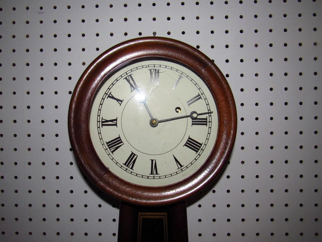 E. Howard #5 Banjo Clock 8 Day time Weight Driven - 2