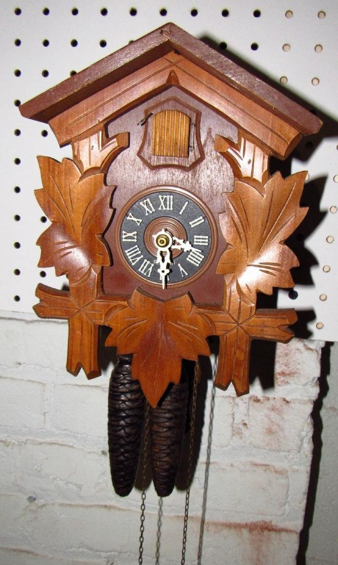 Black Forest Germany Cuckoo Clock - 3