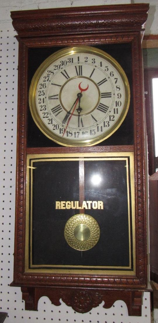 Sessions Regulator Clock