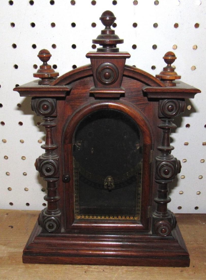 Eight Day Welch Spring Patti Clock Case No. 2