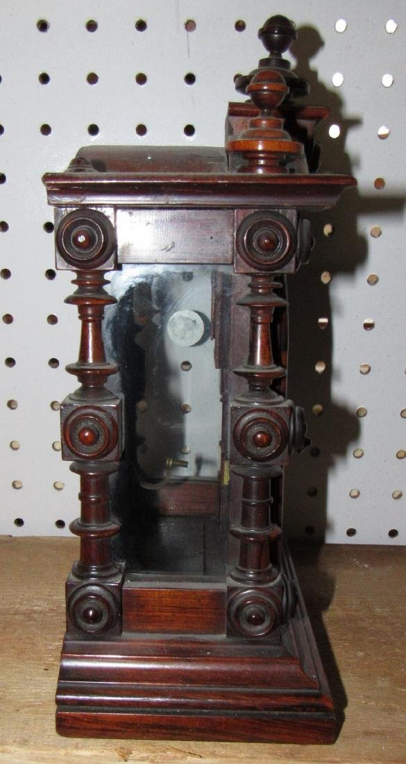 Eight Day Welch Spring Patti Clock Case No. 2 - 3