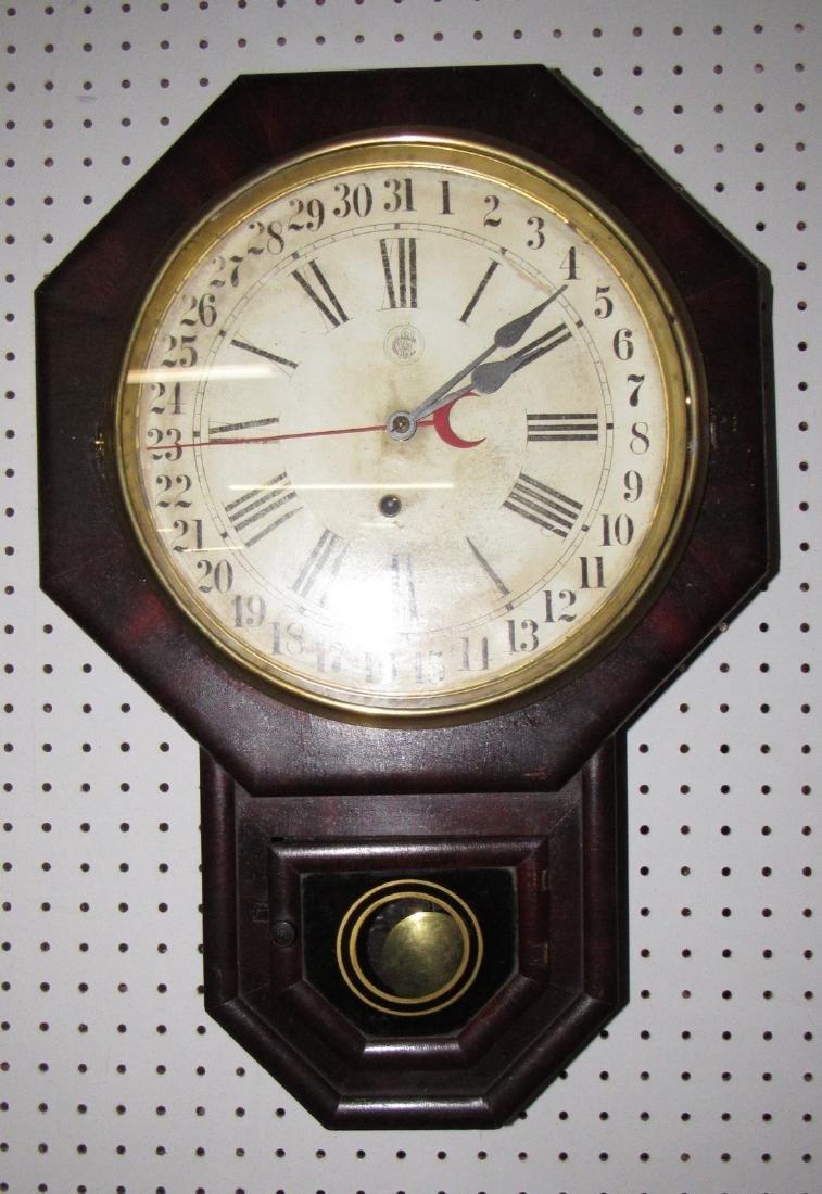 Waterbury Schoolhouse Clock