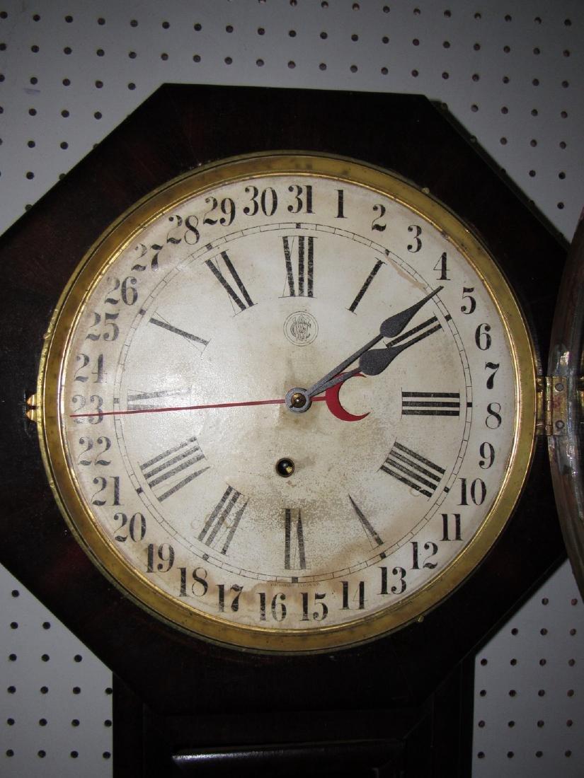 Waterbury Schoolhouse Clock - 2