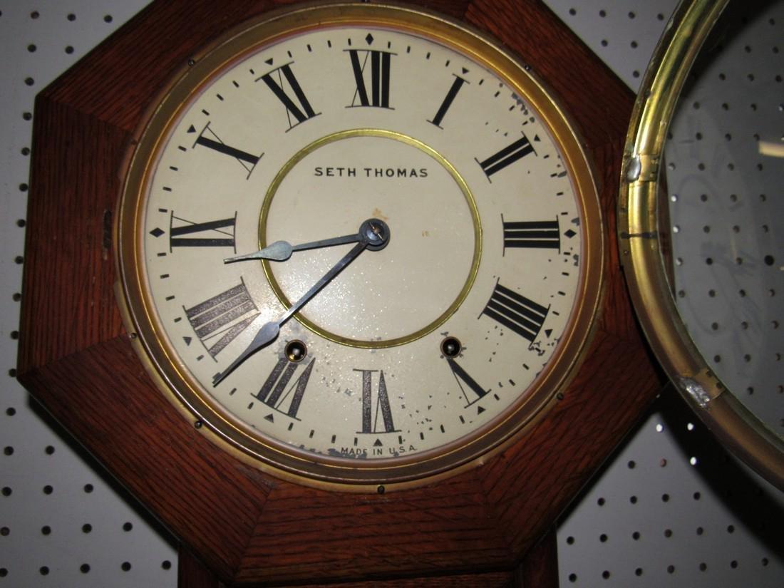 Seth Thomas Regulator Clock - 3