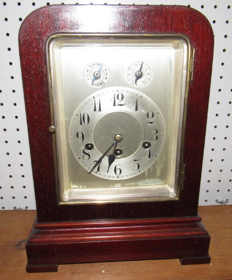 Mantle Clock w/ Beveled Glass - 2