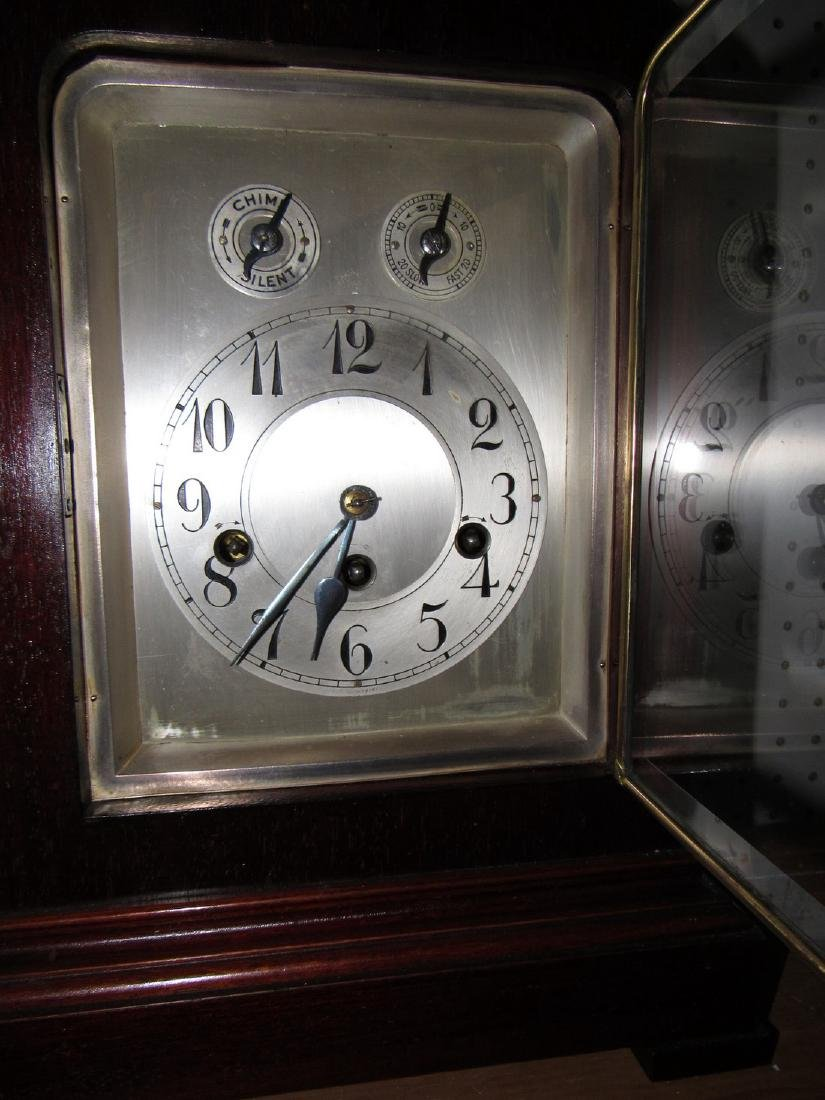 Mantle Clock w/ Beveled Glass - 3