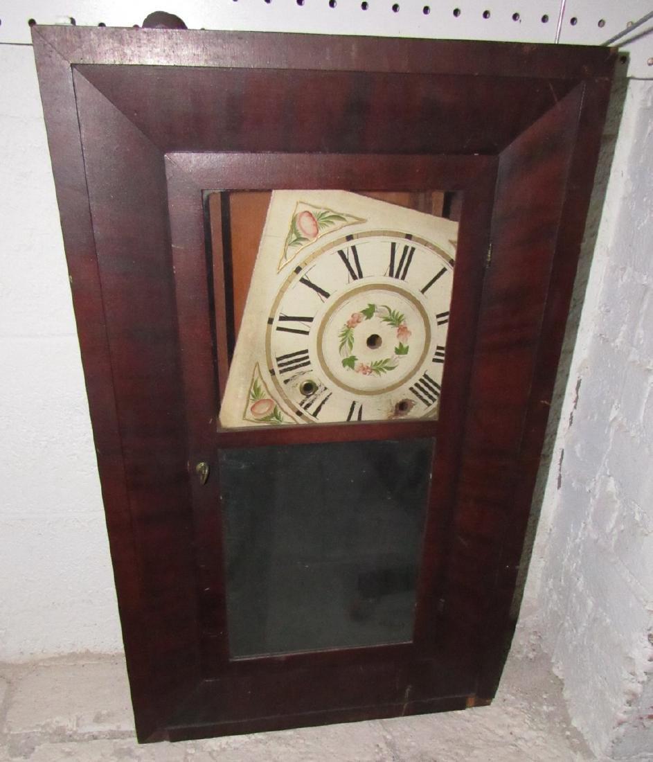 Boardman & Wells Ogee Clock w/ Wood Movements