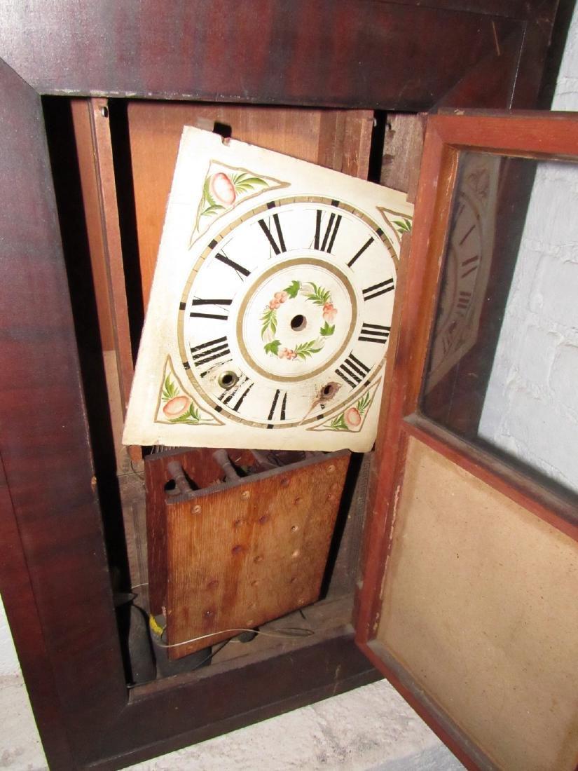 Boardman & Wells Ogee Clock w/ Wood Movements - 2