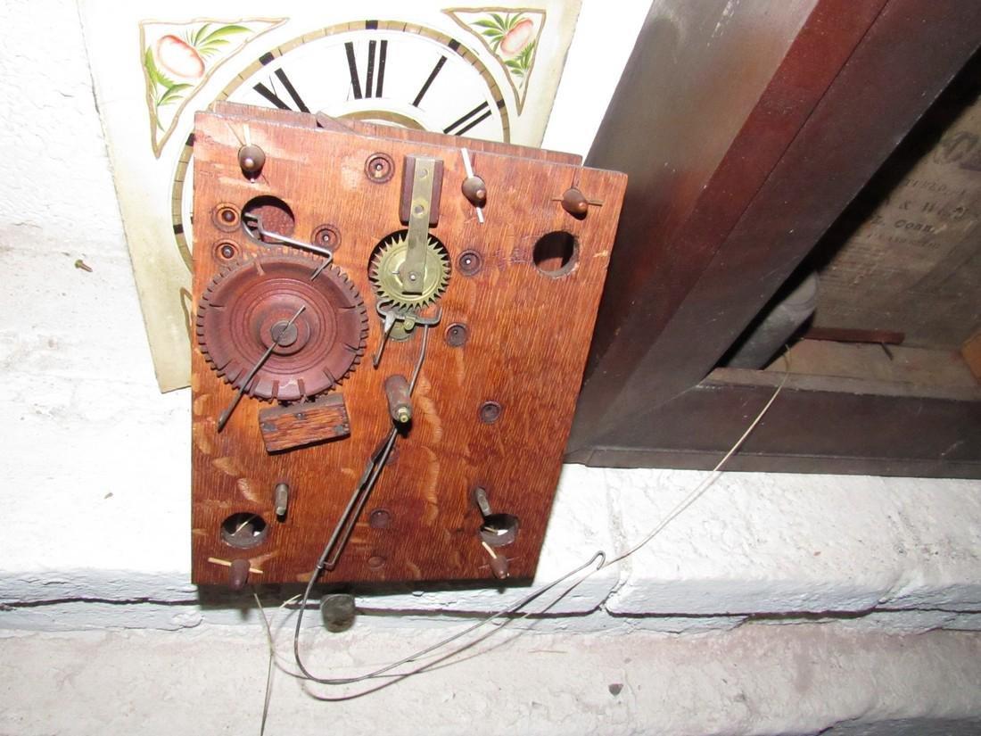 Boardman & Wells Ogee Clock w/ Wood Movements - 5
