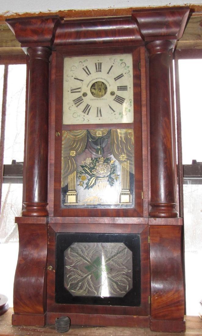 Forrestville Triple Decker Clock