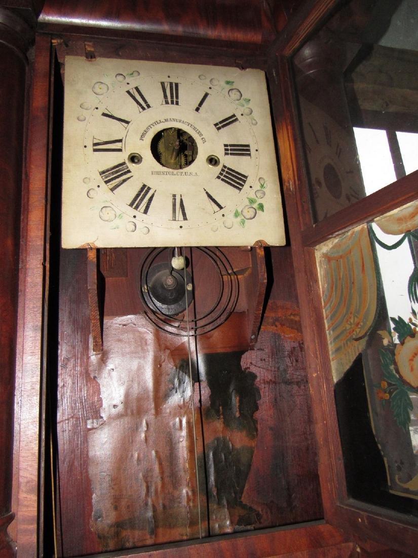 Forrestville Triple Decker Clock - 4