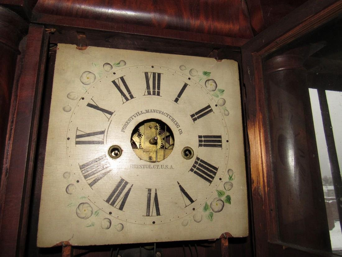 Forrestville Triple Decker Clock - 5