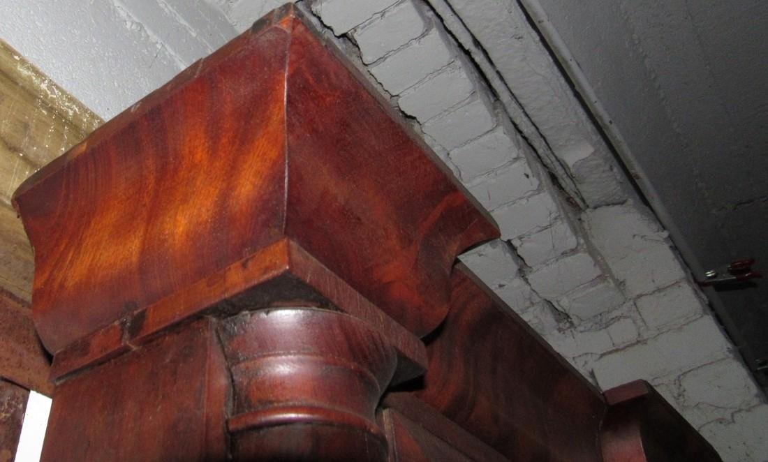 Forrestville Triple Decker Clock - 7