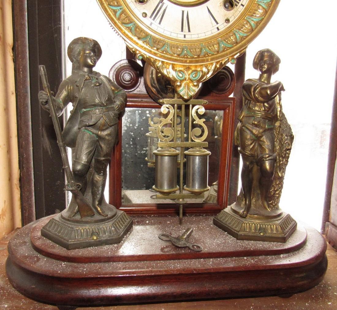 Ansonia Figural Clock - 3