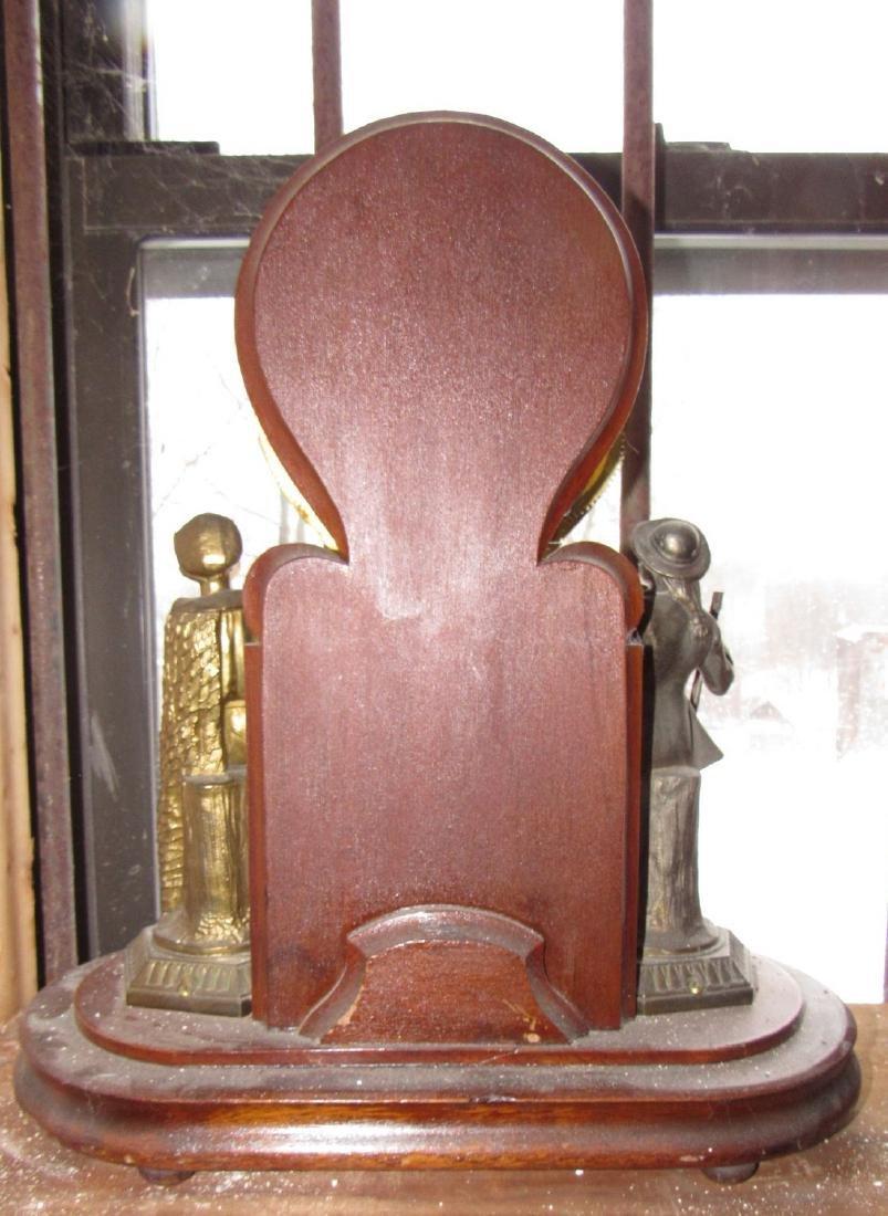 Ansonia Figural Clock - 6