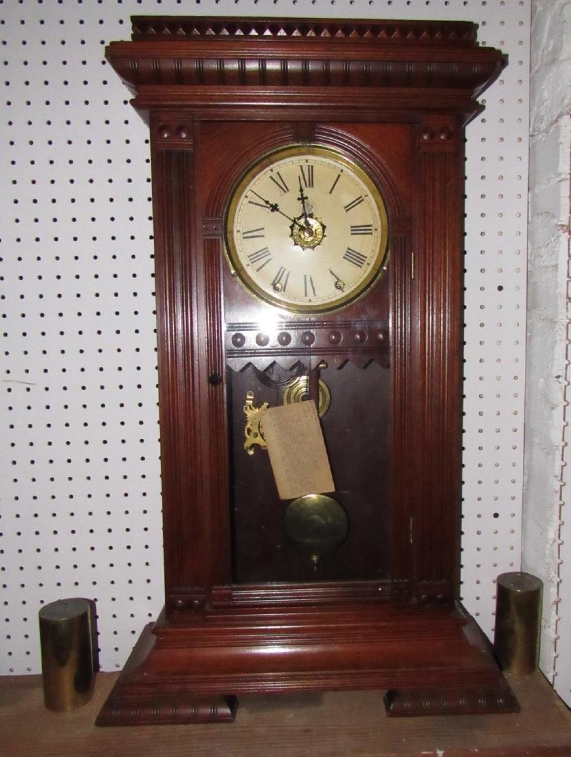Antique Waterbury Weight Driven Clock - 2