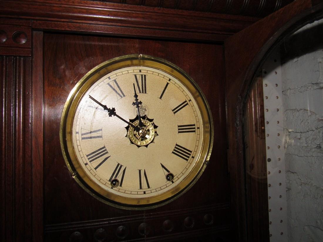 Antique Waterbury Weight Driven Clock - 3
