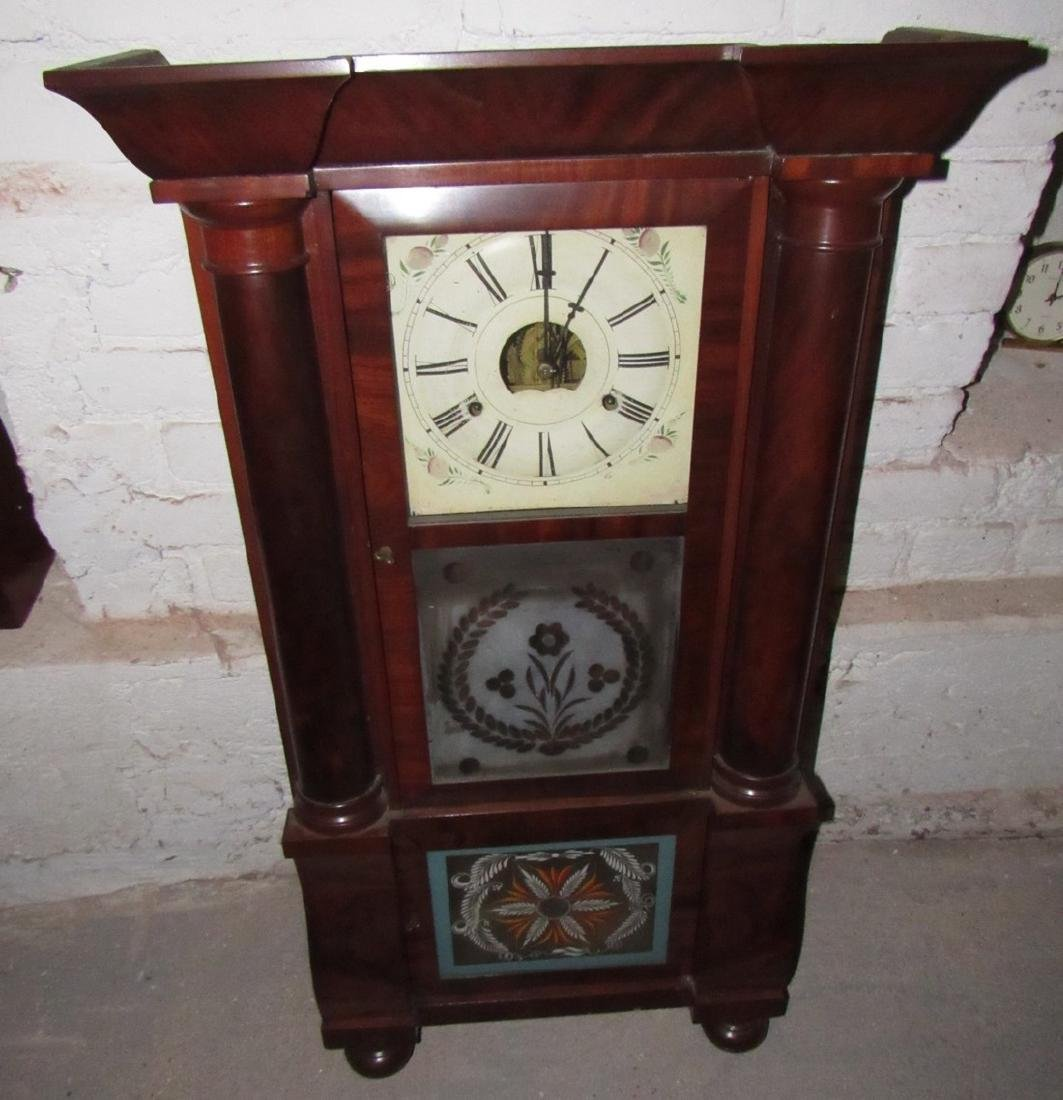 Antique Triple Decker Clock