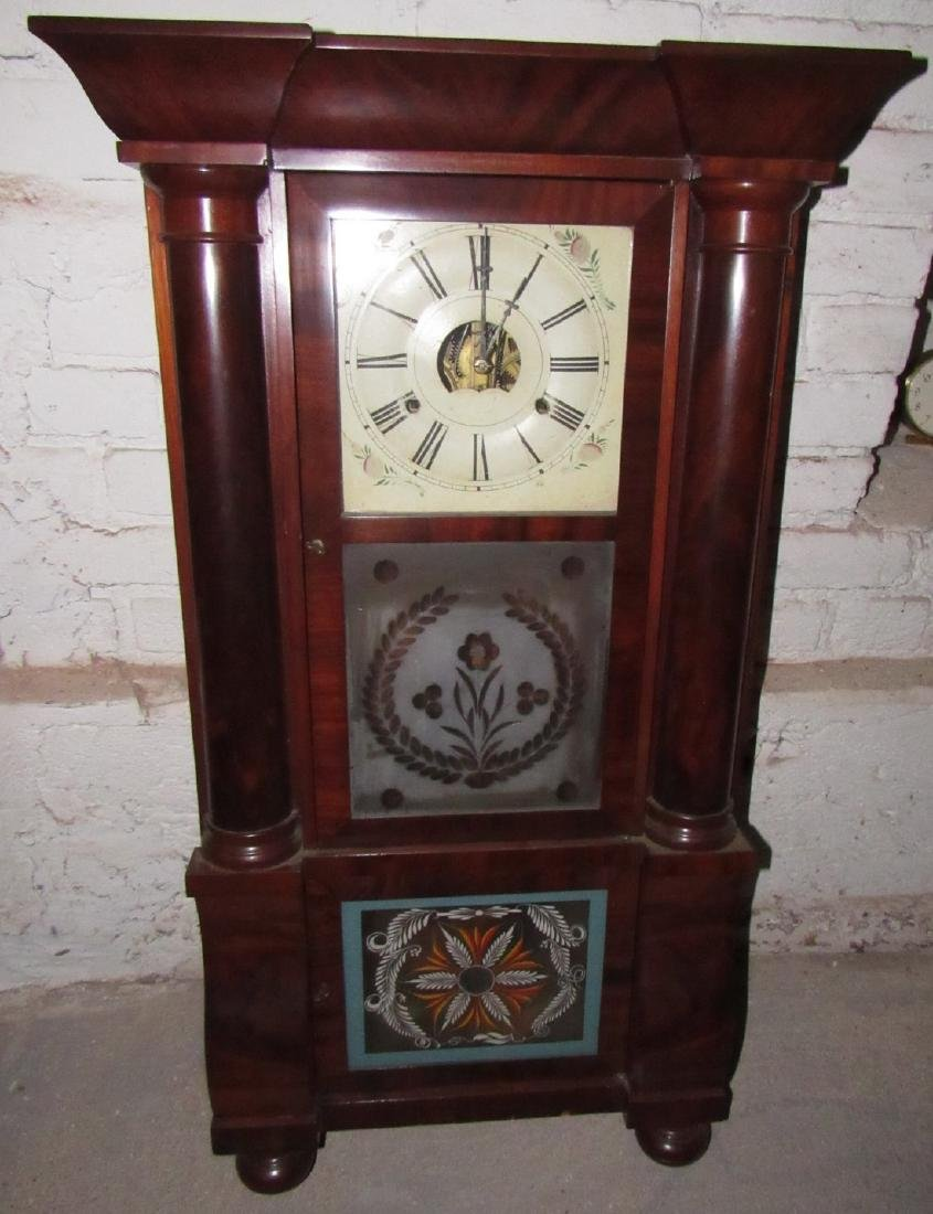 Antique Triple Decker Clock - 2