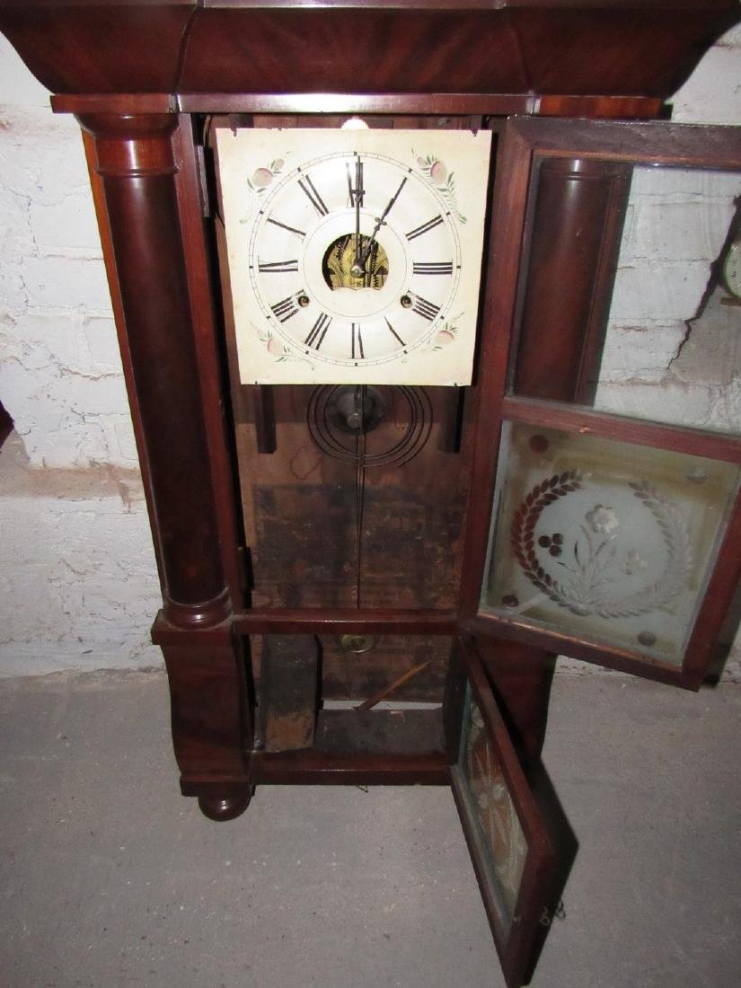 Antique Triple Decker Clock - 3