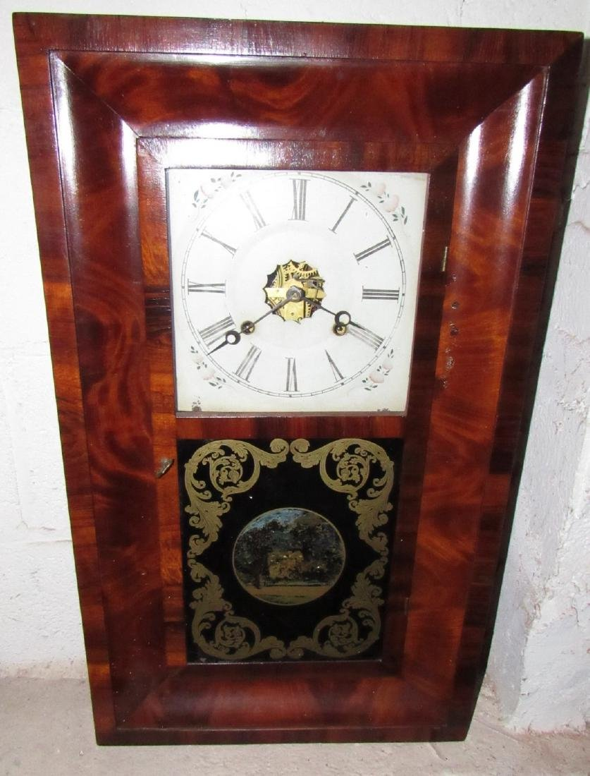 Antique Ogee Wall Clock - 2