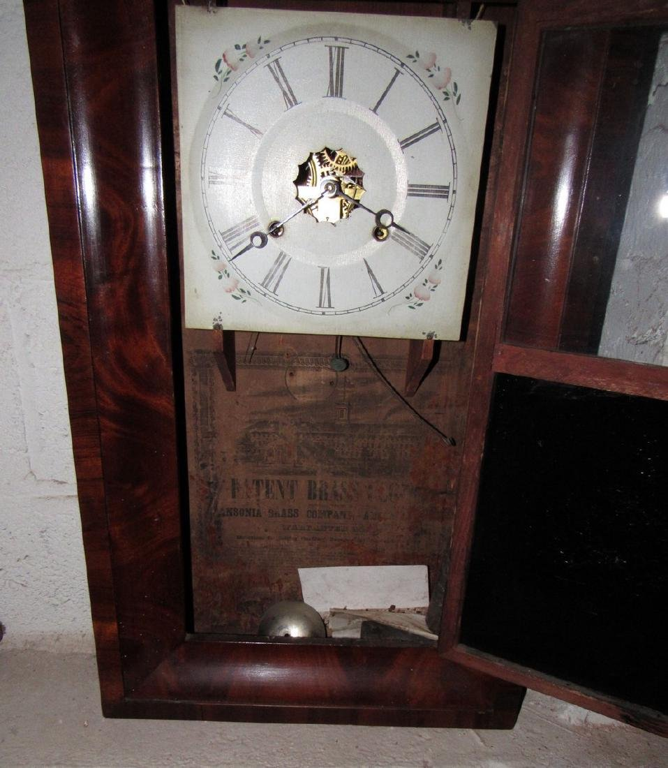 Antique Ogee Wall Clock - 3