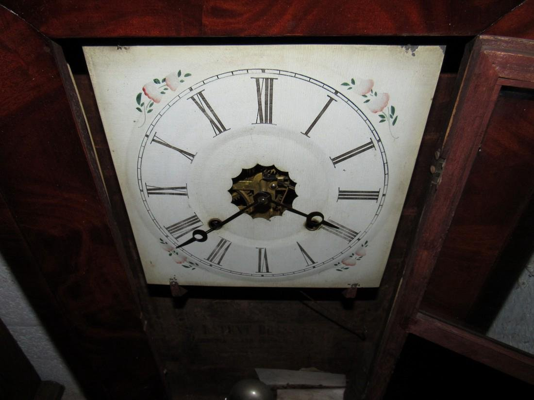 Antique Ogee Wall Clock - 5