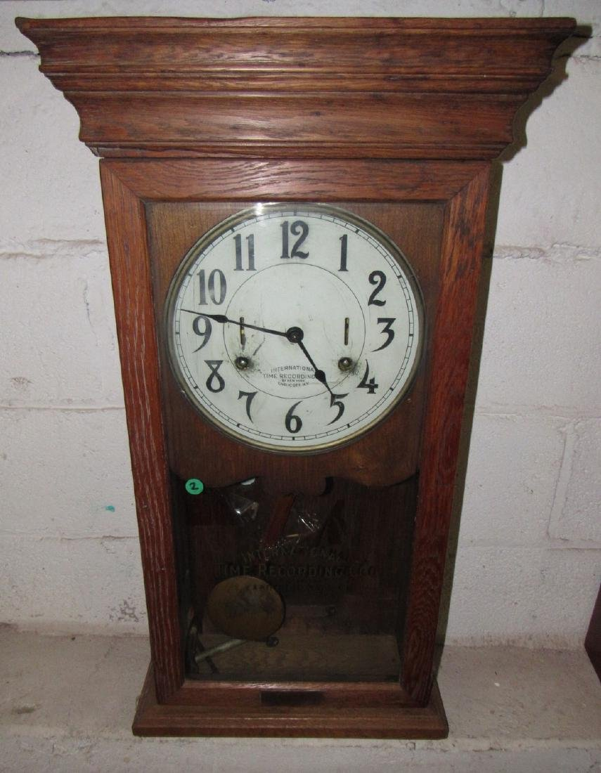 International Time Recording Company Clock