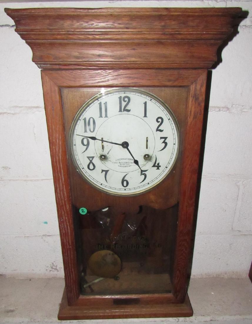 International Time Recording Company Clock - 2