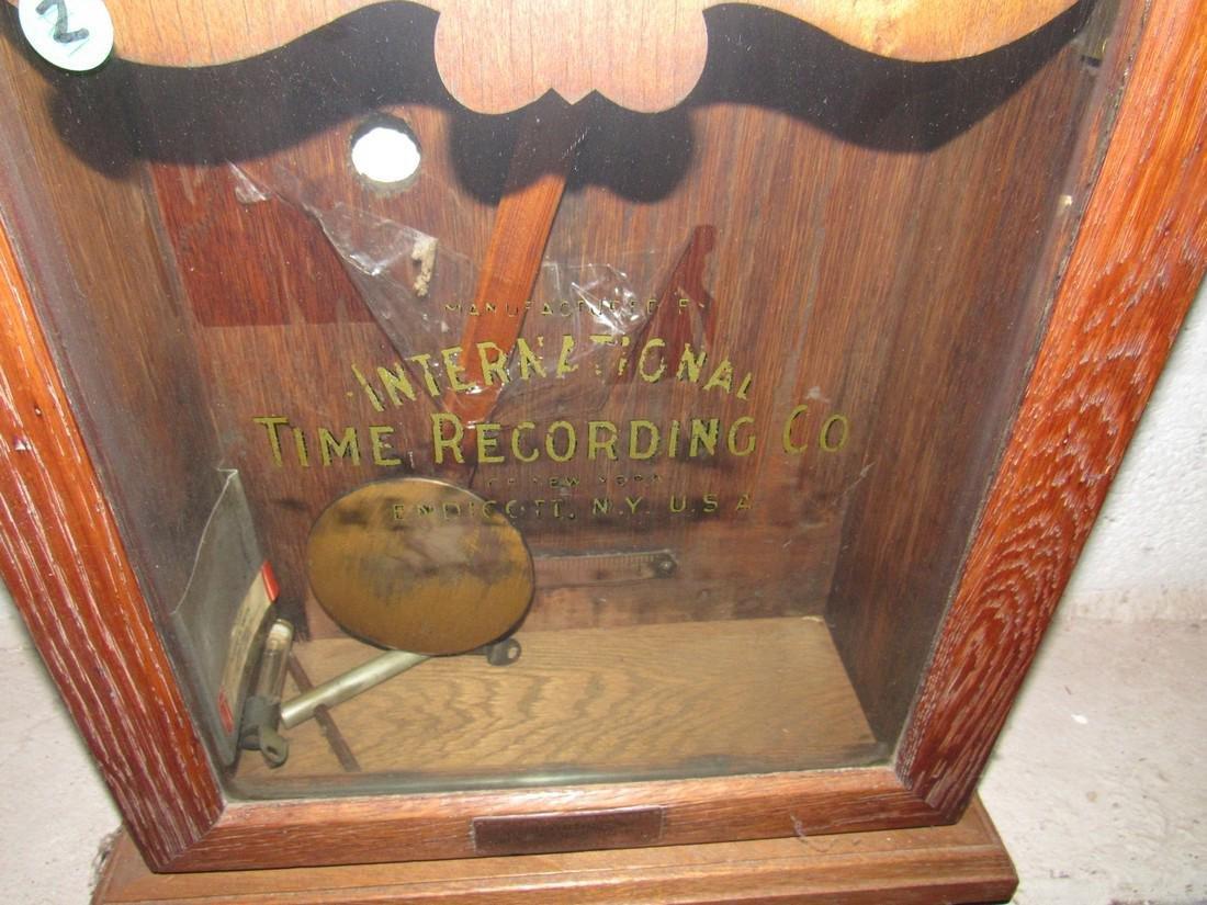 International Time Recording Company Clock - 3