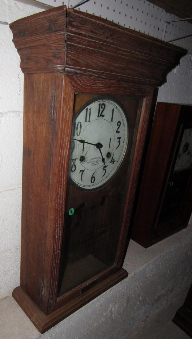 International Time Recording Company Clock - 4