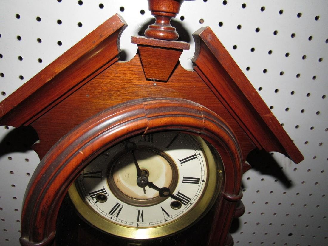 Antique Mantle Clock - 2