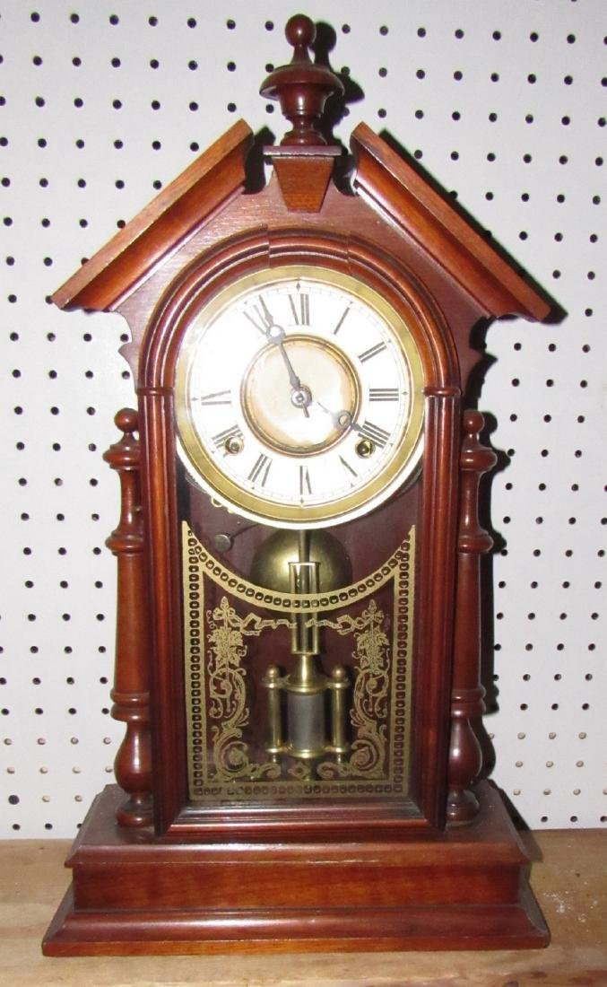 Antique Mantle Clock - 3