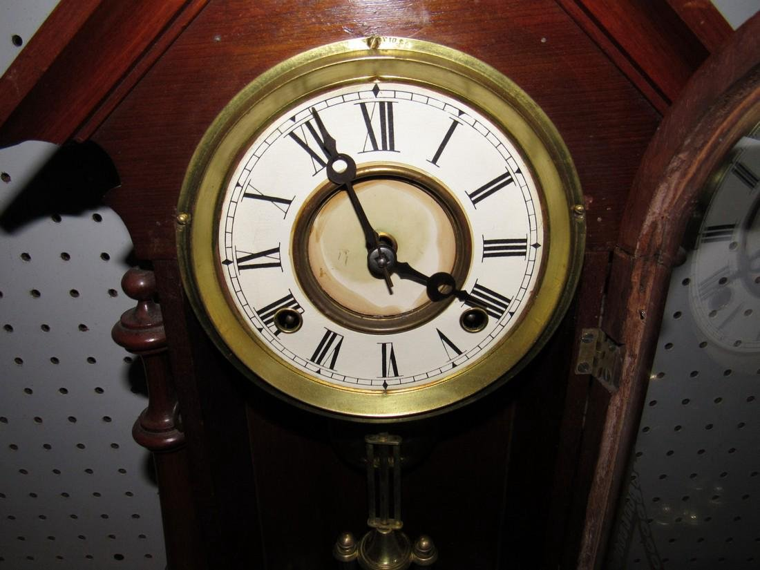 Antique Mantle Clock - 4