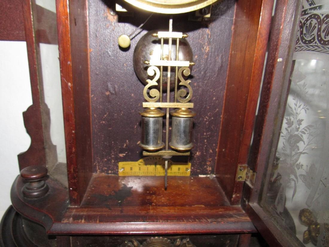 Antique Figural Mantle Clock - 3
