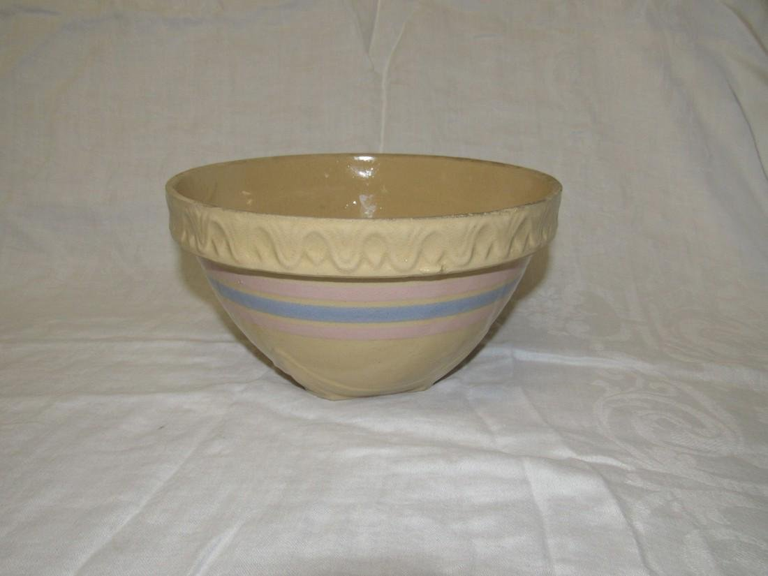 Yellow Ware Mixing Bowl