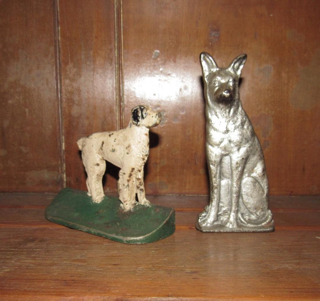 German Shepherd Door Stop & Dog Bookend