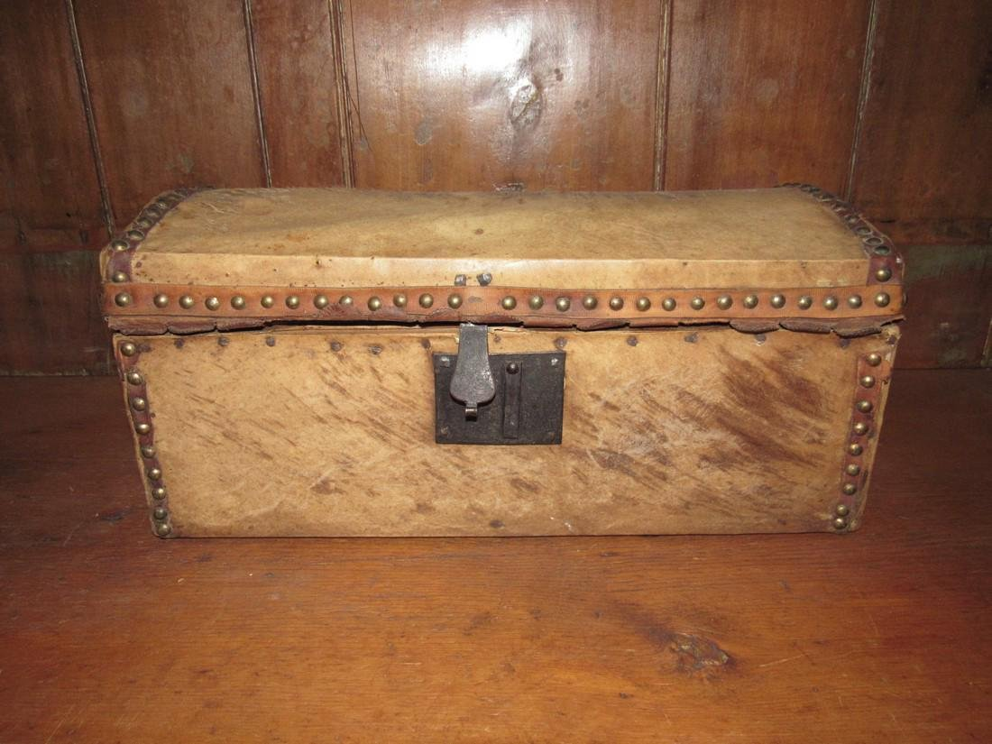 Curtis & Coolidge Leather Trunk